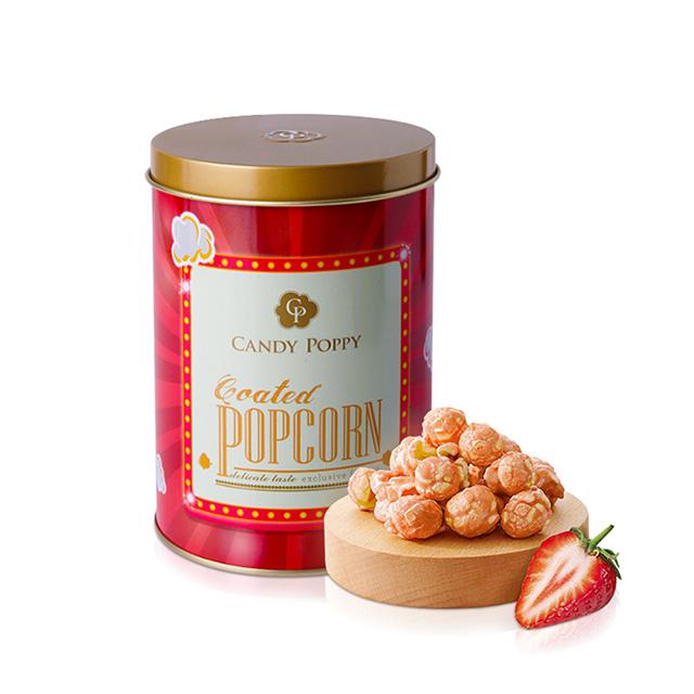 Candypoppy -裹糖爆米花(草莓、120G)(奶素)