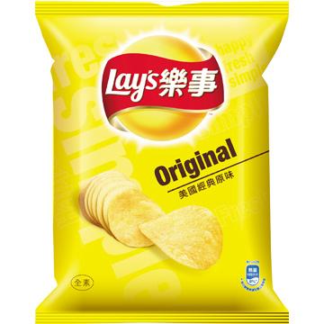 Lay's 樂事洋芋片-經典原味(43g/包)