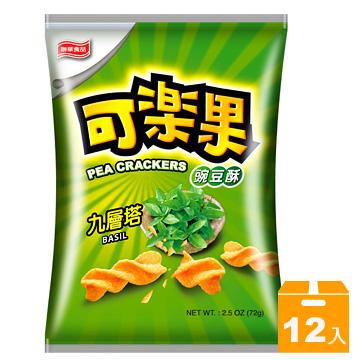 聯華 可樂果九層塔  72g (12包/箱)