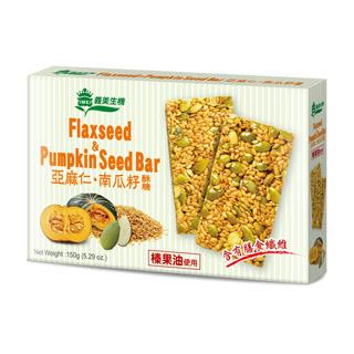 【義美生機】亞麻仁南瓜籽酥糖150g