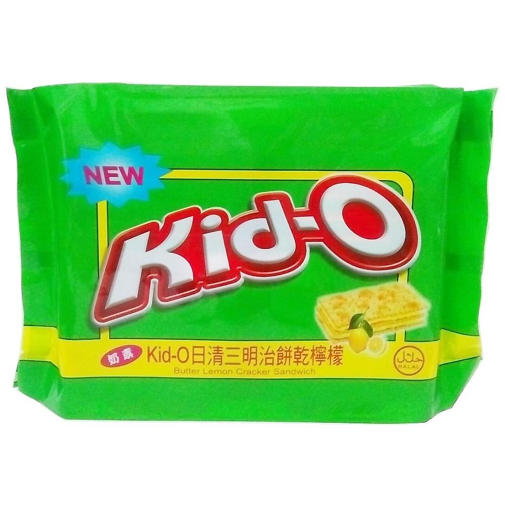 Kid-O 日清三明治餅乾-檸檬 350g(奶素)