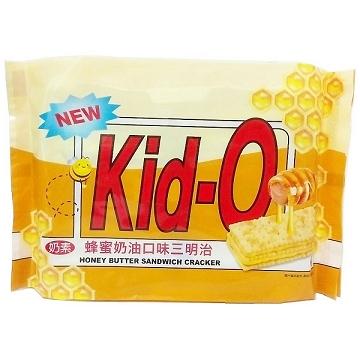 Kid-O 日清三明治餅乾-蜂蜜奶油 300g(奶素)