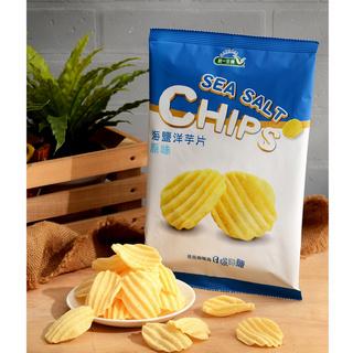 《統一生機》海鹽洋芋片 原味(50g/包)x3包