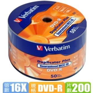 威寶 Super Azo 專業版 16X DVD-R 燒錄片 (200片) + 100入棉套一包