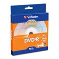 Verbatim 威寶 DVD-R 4.7GB 16X 光碟片 盒裝 (10片)