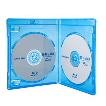 DigiStone 藍光DVD Logo燙銀 雙片精裝軟盒 (100片)