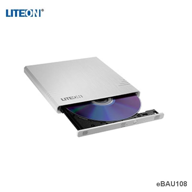 LITEON eBAU108 超薄型外接式燒錄器(白)