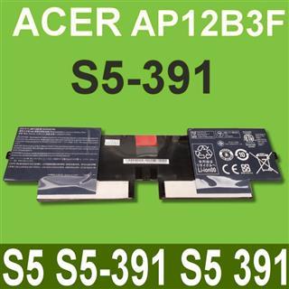 宏碁 ACER AP12B3F 電池 S5 S5-391 S5 391