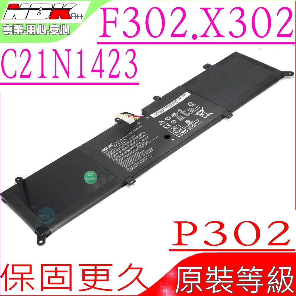 ASUS電池(原裝)-華碩 P302,  F302,  X302 P302L, P302LJ, P302LA, F302, F302LA F302UV, X302LA,  X302LJ , X302U ...