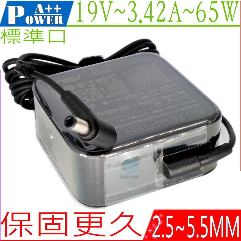 ASUS 19V 3.42A (原廠)-華碩 65W, S56, S96, W1, W3, W5 X401, X402, X450, X451, X452, X455, X501 X51, X52, X53,...