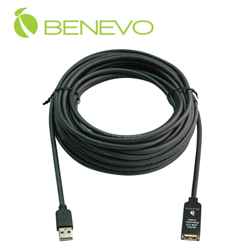BENEVO UltraUSB 10M 單埠主動式USB 2.0 訊號增益延長線(BUE2010U1)