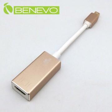 BENEVO 4K版 Mini Displayport轉HDMI轉接線 (BmDP2HDMIKG)