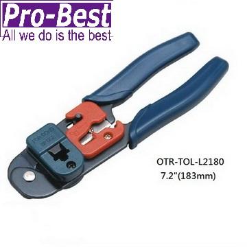 PRO-BEST 8P網路壓著鉗工具(OTR-TOL-L2180)