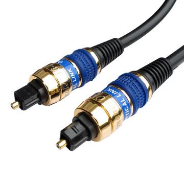 PRO-BEST 影音光纖線6.0mm,黑色-2米