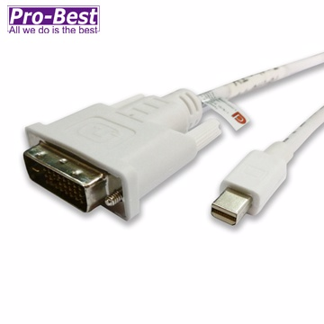 PRO-BEST Mini DisplayPort to DVI25轉接線-2M