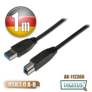 DIGITUS曜兆USB3.0A公轉B公線-1.8公尺