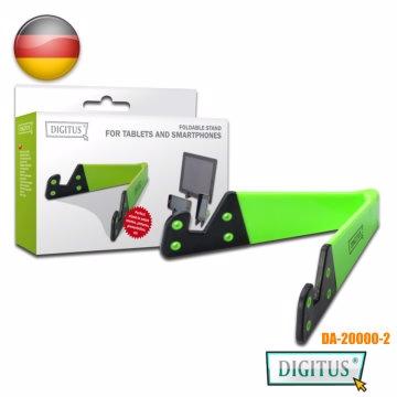 曜兆DIGITUS手機平板IPAD 站立架(4吋到15吋)綠色