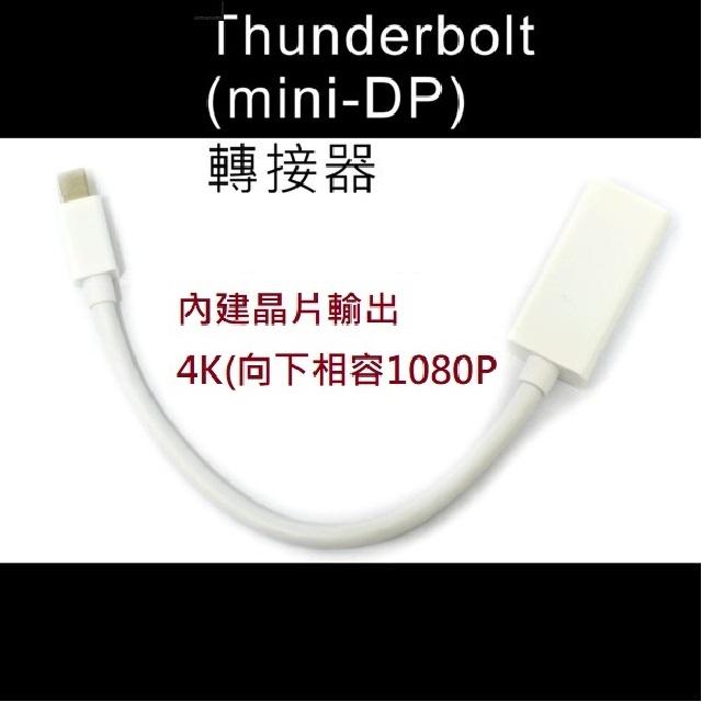 4K大電視專用轉接器 MAC / PC Thunderbolt轉接器 TO HDMI 1.4版(LPC-1886=1884)