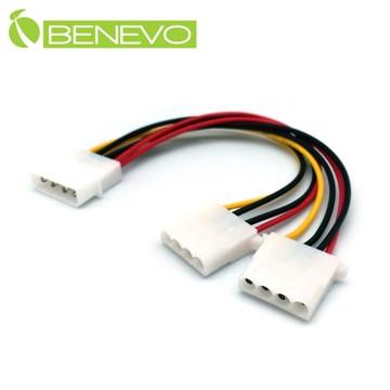 BENEVO主機用 4PIN(D型)一分二電源連接線 (BP4P102)