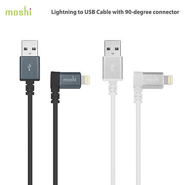 Moshi Lightning to USB 90° 彎頭傳輸線
