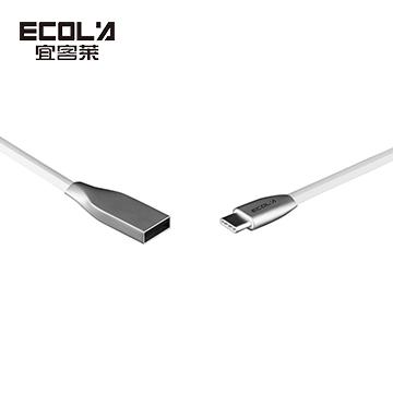 ECOLA  Z系列鋅合金TYPE-C充電資料傳輸線