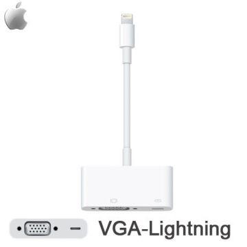 for Apple Lightning 對 VGA 轉接器(MD825FE/A)