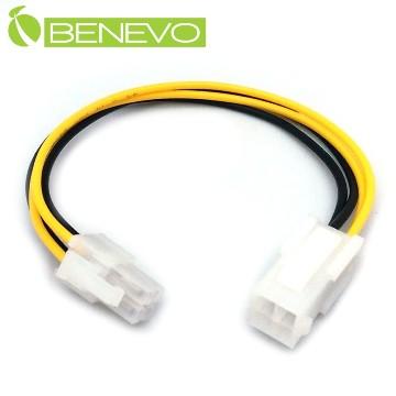 BENEVO 20cm 主機板CPU用 4P電源延長線 (BP4P0020MF)