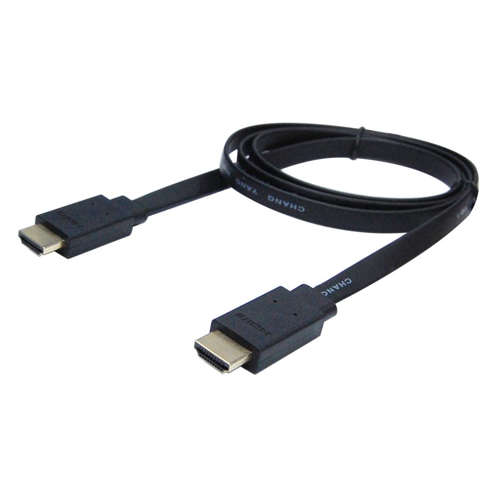 Cable 薄型高清HDMI V1.4b數位影音線200cm(HS-HDMI020)