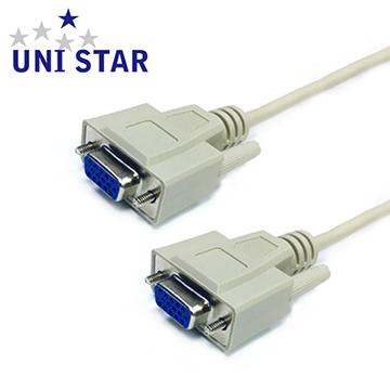 UNI STAR VGA顯示器視訊線母-母 1.8公尺(HD1515SS02)