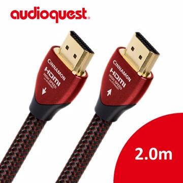 ★全面支援真4K HDR美國線聖 Audioquest HDMI Cinnamon 肉桂 (2.0m) 支援4K 3D