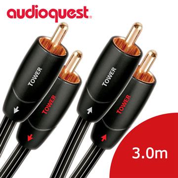 美國線聖 Audioquest Tower (RCA to RCA) 訊號線 3.0M