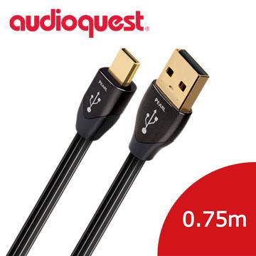 美國線聖 Audioquest USB-Digital Audio Pearl 傳輸線 (A to Micro) 0.75M