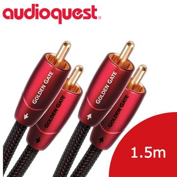 美國線聖 Audioquest Golden Gate (RCA to RCA) 訊號線 1.5M