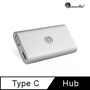 【Genwelled】Type-C充電傳輸集線器◤多功能充電傳輸,一機滿足您所有充電及傳輸需求◢