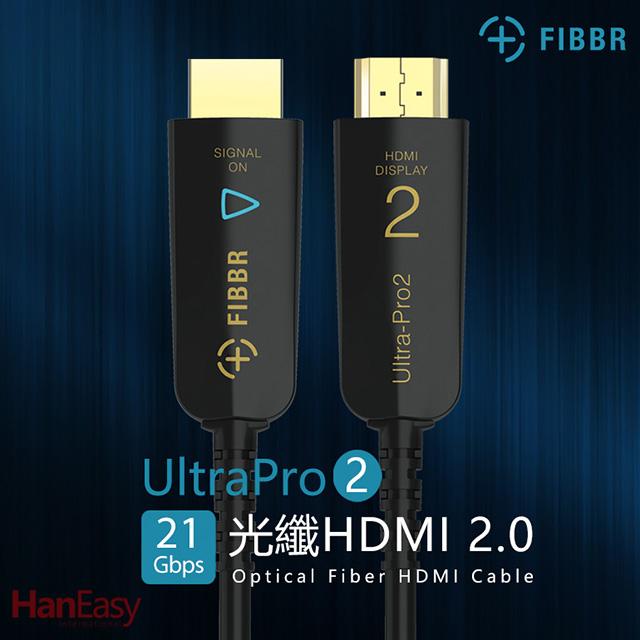 FIBBR Ultra Pro2系列HDMI 2.0光纖纜線 3M