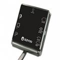 【KINYO】多合一7插槽晶片讀卡機  KCR-359