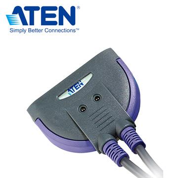 ATEN 2埠PS2 KVM多電腦切換器CS62