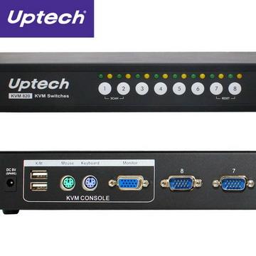 Uptech KVM820 combo 雙用電腦切換器