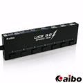 aibo H30A USB3.0 超高速獨立開關 7PORT HUB 集線器