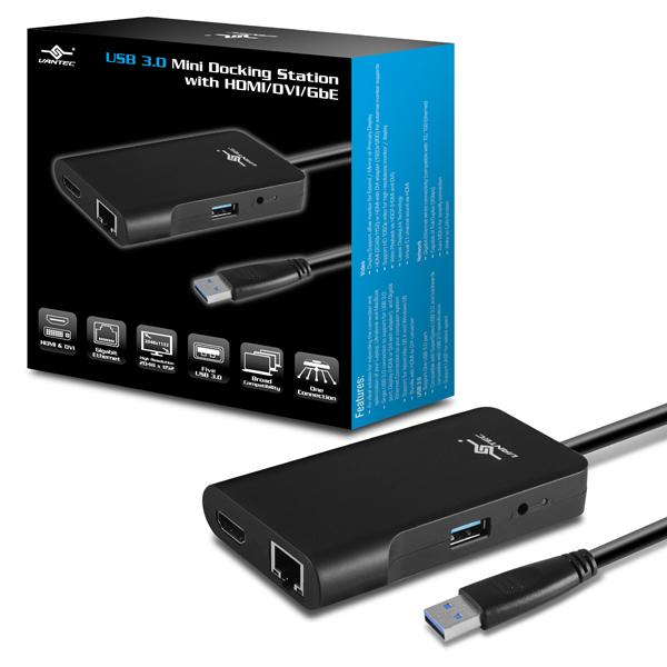 凡達克 USB3.0 多功能擴充座(DSH-M100U3)