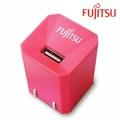 FUJITSU富士通1A電源供應器(粉)