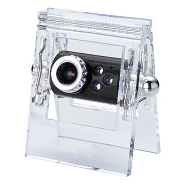水晶夾PC camera網路攝影機★神秘黑★