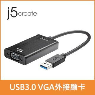 KaiJet j5 create USB 3.0 VGA 外接顯示卡JUA310