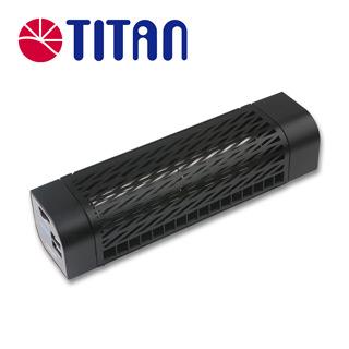 TITAN 冰炫風(第二代)車用風扇 (黑色)
