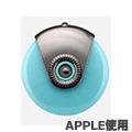 (買一送一)USB APPLE 手機噴霧加濕器-藍