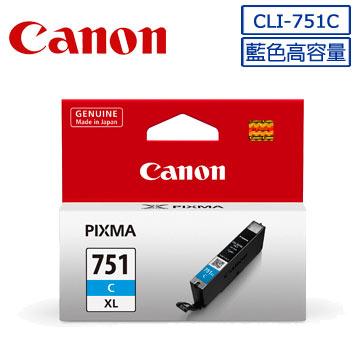CANON CLI-751XL C/M/Y原廠墨水組 CLI-751XL C(藍色)+CLI-751XL M(紅色)+CLI-751XL Y(黃色)