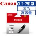 CANON CLI-751GY XL原廠灰色高容量XL墨水匣