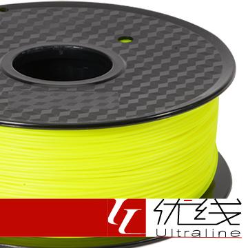 【優線Ultraline】 PC 黃色 3D列印線材 1.75mm 1kg