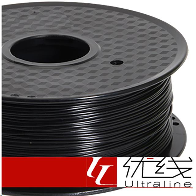 【優線Ultraline】 Flexible軟料 黑色 3D列印線材 1.75mm 1kg 軟質線材