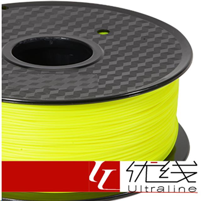 【優線Ultraline】 Flexible軟料 螢光黃色 3D列印線材 1.75mm 1kg 軟質線材
